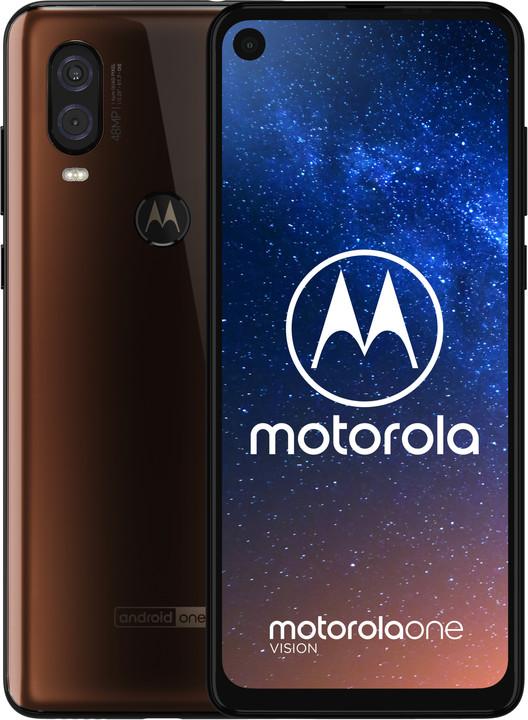 Motorola Moto One Vision, 4GB/128GB, Bronzová