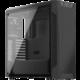 SilentiumPC Armis AR7 TG Black, Tempered Glass, černá