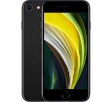 Apple iPhone SE 2020, 128GB, Black Apple TV+ na rok zdarma + Kuki TV na 2 měsíce zdarma