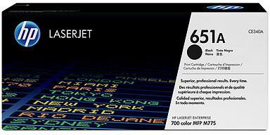 HP CE340A, černá