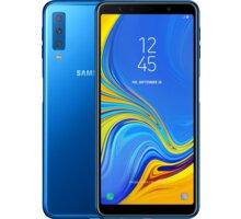 Samsung Galaxy A7 (2018), Dual Sim, 4GB/64GB, modrá  + ESET mobile security 3 měsíců v hodnotě 149 Kč + Vak Nike Heritage šedivá v hodnotě 449 Kč