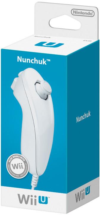 Nintendo Nunchuk, bílá (WiiU)