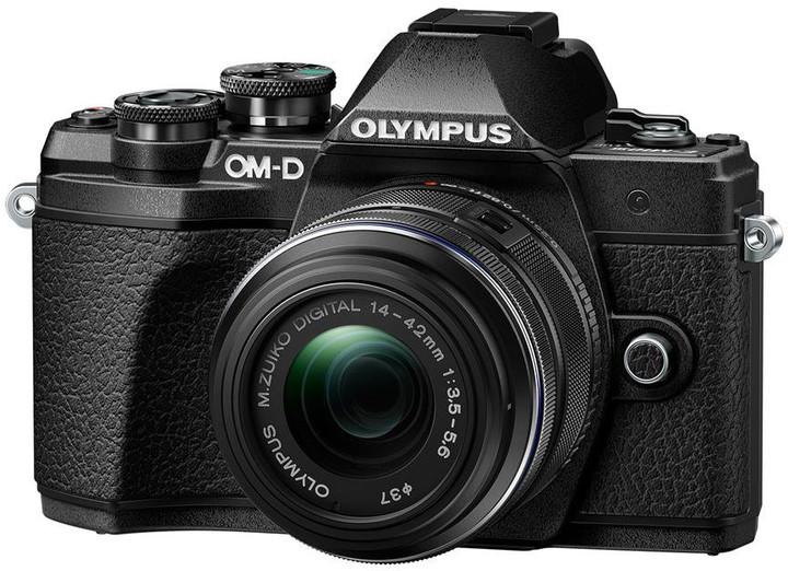 Olympus E-M10 Mark III + 14-42mm II R, černá