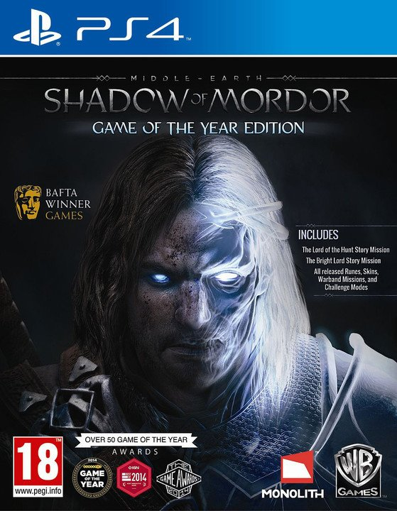 Middle-Earth: Shadow of Mordor Game of The Year Edition (PS4)