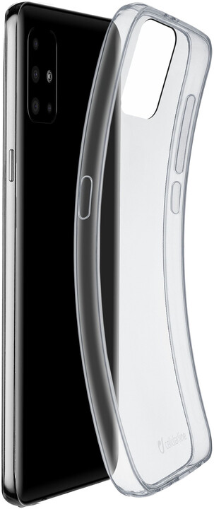 Cellularline extratenký zadní kryt Fine pro Samsung Galaxy A71, čirá