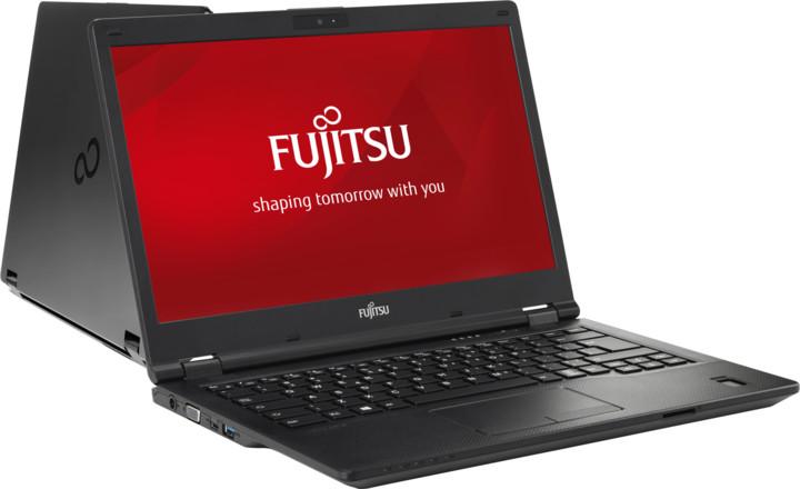 Fujitsu Lifebook E448, černá