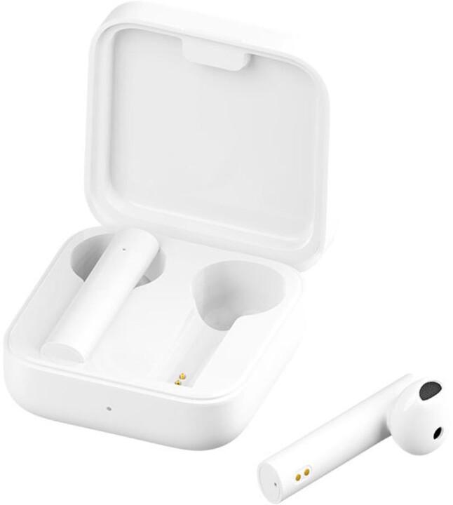 Xiaomi Mi True Wireless Earphones 2 Basic, bílá
