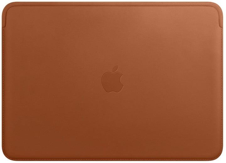 """Apple pouzdro pro MacBook Pro 13 """" Leather Sleeve, sedlově hnědá"""