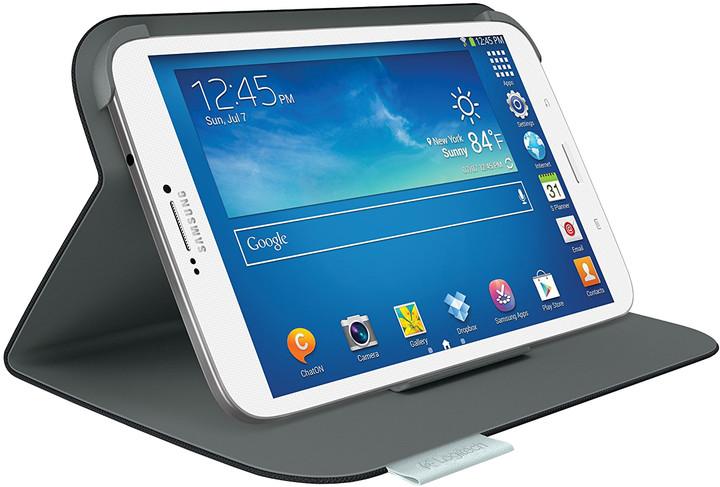 """Logitech Folio Protective Case pro Samsung Galaxy Tab 3 8"""", uhlíková čerň"""