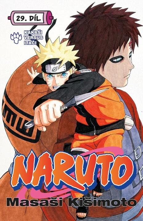 Komiks Naruto: Kakaši versus Itači, 29.díl, manga