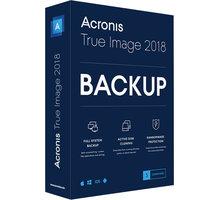 Acronis True Image Advanced Subscription CZ pro 3 PC + 1TB Acronis Cloud Storage - THQASLLOS