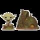 Figurka Funko POP! Star Wars - Dagobah Yoda's Hut