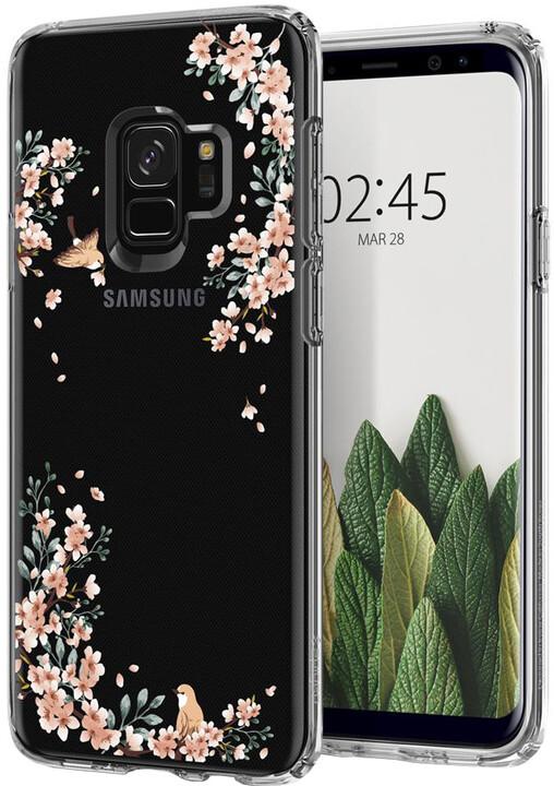 Spigen Liquid Crystal pro Samsung Galaxy S9, blossom nature