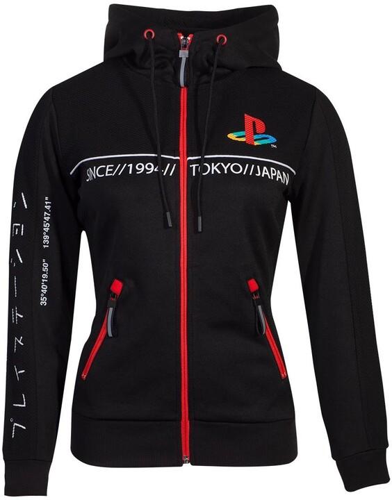 Mikina PlayStation - Cut & Sew, dámská (L)