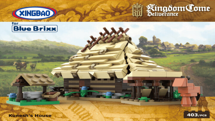 Stavebnice Kingdom Come: Deliverance - Kunešův dům
