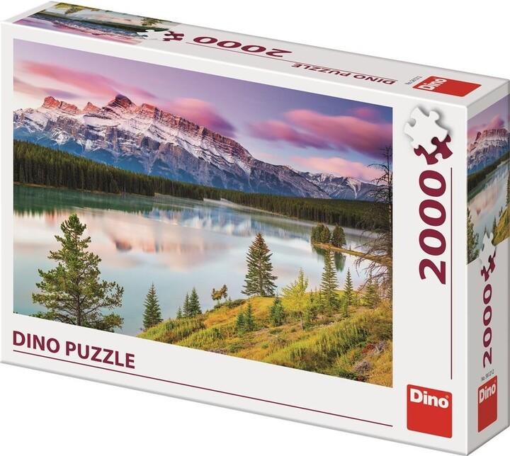 Puzzle Dino Skalnaté hory, 2000 dílků
