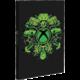 Zápisník Xbox, svítící, linkovaný (A5)