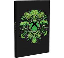 Zápisník Xbox, svítící, linkovaný (A5) - PP5759XB