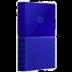 WD My Passport - 2TB, modrá  + HD USB SanDisk Connect Wireless - 32GB v hodnotě 399 Kč