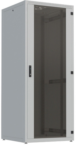"""CONTEG 4X rozvaděč, 19"""" stojanový, 42U, 600x800mm, zatížení 500kg, šedá"""