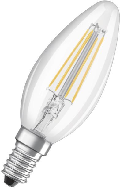 Osram LED Filament STAR ClasB  4W 827 E14 noDIM A++ 2700K