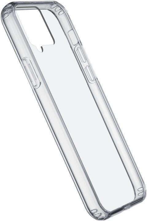Cellularline zadní kryt Clear Duo pro Samsung Galaxy A42 (5G), s ochranným rámečkem, čirá