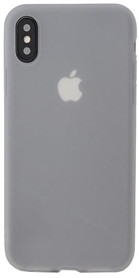 EPICO SILK MATT pružný plastový kryt pro iPhone X - bílý