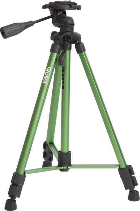 Rollei Stativ Compact Traveller Star S2, zelený