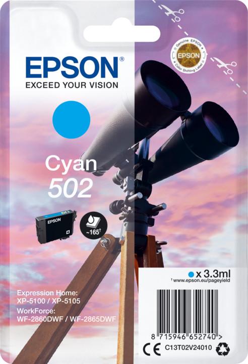 Epson C13T02V24010, cyan
