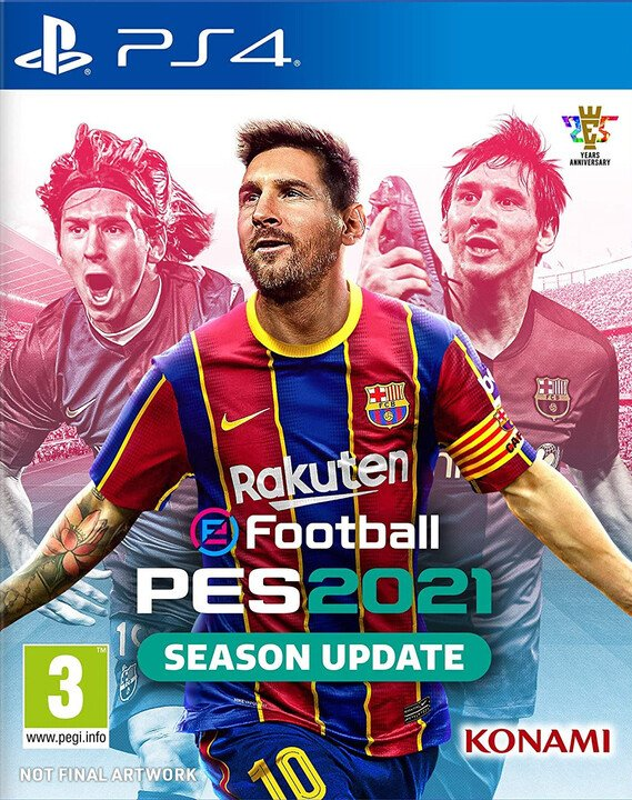eFootball PES 2021 - Season Update (PS4)
