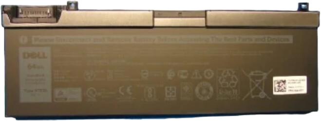 Dell baterie 3-článková, 64W/HR LI-ON, pro Precision 7530/7540/7730/7740