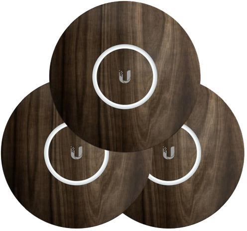 Ubiquiti kryt pro UAP-nanoHD, dřevěný motiv, 3 kusy