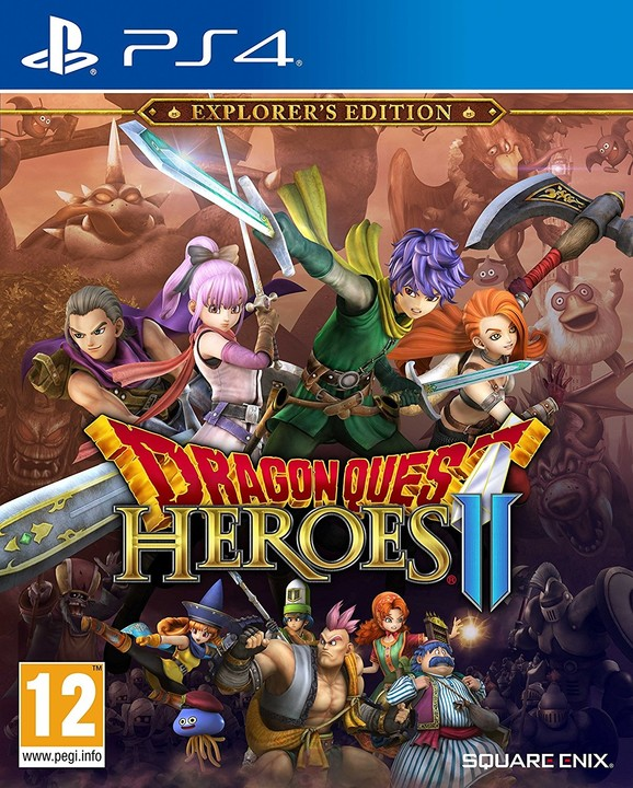 Dragon Quest Heroes 2 - Explorer's Edition (PS4)