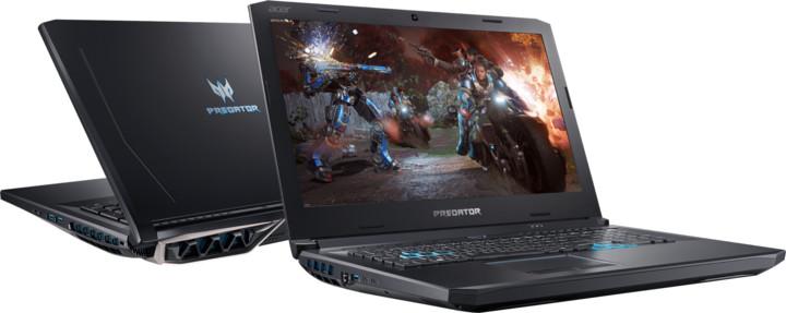 Acer Predator Helios 500 kovový (PH517-51-71R2), černá