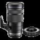 Olympus M. ZUIKO DIGITAL 40-150mm f/2.8 PRO + 1.4x telekonvertor MC-14, černá