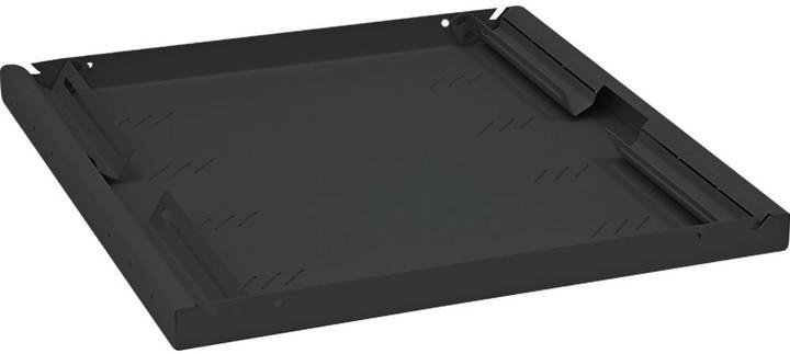 """Triton police A4 s perforací RAB-UP-950-A4, 19"""", 1U/950mm, nostnost 80Kg, černá"""