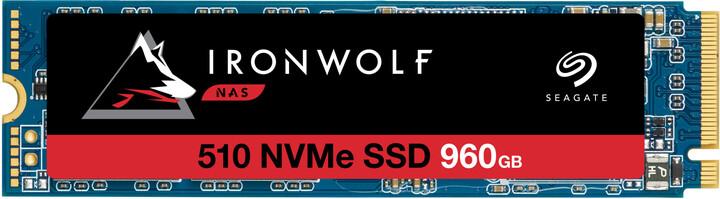 Seagate IronWolf 510, M.2 - 960GB