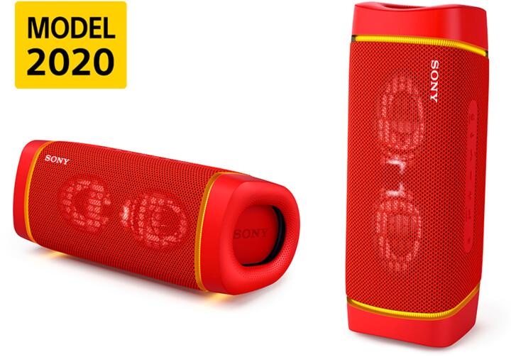 Sony SRS-XB33, červená