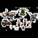 LEGO Jurassic World 75942 Velociraptor: Záchranná mise s dvouplošníkem
