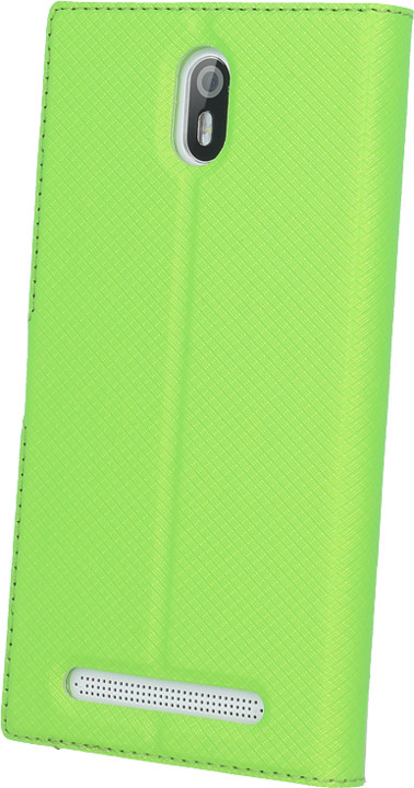 myPhone pouzdro s flipem pro FUN 5, zelené