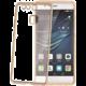 CELLY Laser - lemování s kovovým efektem TPU pouzdro pro Huawei P9, zlatá
