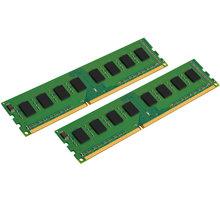 Kingston Value 8GB (2x4GB) DDR3 1600 CL11 CL 11 - KVR16N11S8K2/8