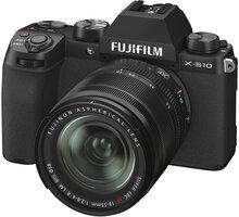 Fujifilm X-S10 + XF18-55mm, černá - 16674308