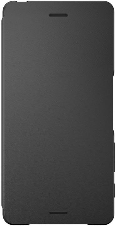 Sony SCR52 Style Cover Flip Xperia X, černá