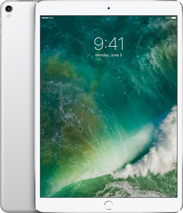 Apple iPad Pro Wi-Fi + Cellular, 10,5'', 256GB, stříbrná