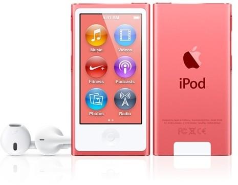 Apple iPod Nano - 16GB, růžová, 7th gen.
