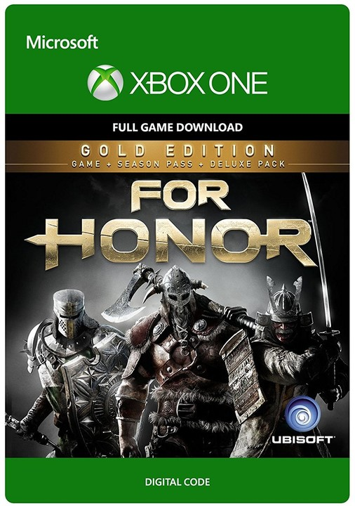 For Honor: Gold Edition (Xbox ONE) - elektronicky