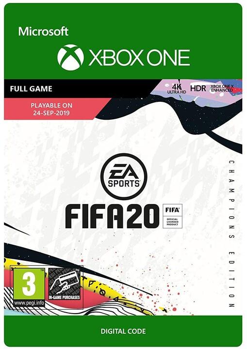 FIFA 20: Champions Edition (Xbox ONE) - elektronicky