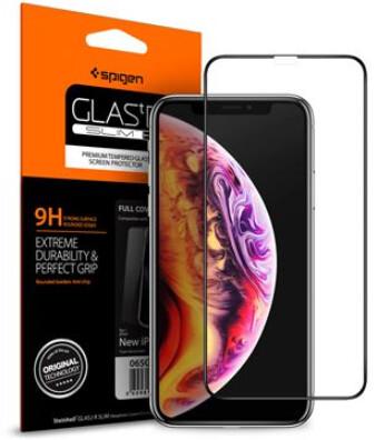 Spigen tvrzené sklo Glass FC pro iPhone 11 Pro/XS/X, 2ks