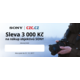 Slevový poukaz na nákup objektivu Sony v ceně 3000 Kč (platnost do 31.12.2017)